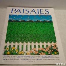 Coleccionismo de Revistas y Periódicos: PAISAJES DESDE EL TREN Nº 46 - AGOSTO 1994 - PORTADA EL OJO MÁGICO - IMÁGENES EN 3D. Lote 92958585
