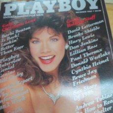 Coleccionismo de Revistas y Periódicos: REVISTA PLAYBOY DICIEMBRE 1985. Lote 92995060