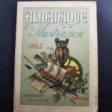 Coleccionismo de Revistas y Periódicos: ALMANAQUE DE LA ILUSTRACION 1885 SUCESORES DE RIVADENEYRA 1884 143 PAGINAS. Lote 93019905