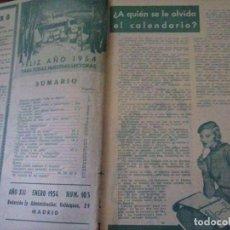 Coleccionismo de Revistas y Periódicos: TOMO DE 30 REVISTAS ANTIGUAS *PARA NOSOTRAS*. Lote 93210355