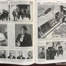 Coleccionismo de Revistas y Periódicos: TOMO REVISTA MUNDO GRÁFICO AÑO 1913.26 NUMEROS EN PERFECTO ESTADO CONSERVACION. Lote 93382365