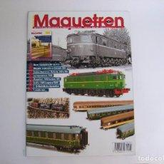 Coleccionismo de Revistas y Periódicos: REVISTA MAQUETREN Nº 201. Lote 93391505