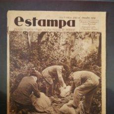 Coleccionismo de Revistas y Periódicos - ESTAMPA. Revista gráfica. 6 de Octubre de 1934. Año 7. N° 352. - 93582320