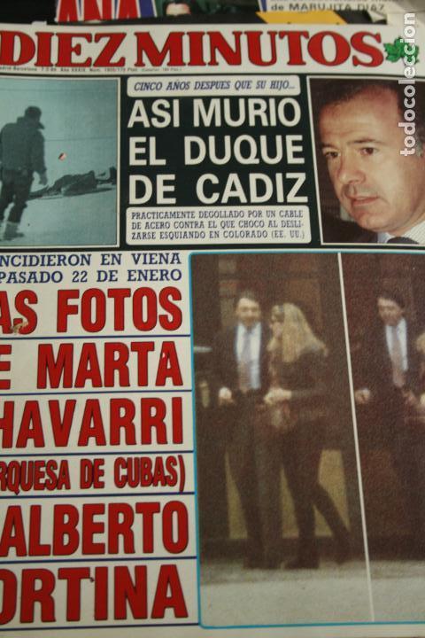 ANTONIO BANDERAS MARIA LUISA SAN JOSE SABRINA FLORINDA BOLKAN 1989 (Coleccionismo - Revistas y Periódicos Modernos (a partir de 1.940) - Otros)
