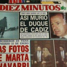 Coleccionismo de Revistas y Periódicos: ANTONIO BANDERAS MARIA LUISA SAN JOSE SABRINA FLORINDA BOLKAN 1989. Lote 93605490