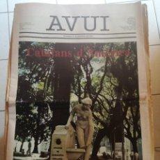 Coleccionismo de Revistas y Periódicos: AVUI - AÑO 1979 .. Lote 93644010