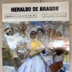 Collezionismo di Riviste e Giornali: HERALDO DE ARAGON EXTRA FIESTAS PILAR 1986 ZARAGOZA. JOTAS. CERVEZA MARLEN ANUNCIO ZARAGOZANA.. Lote 93697535