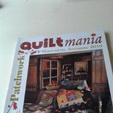 Coleccionismo de Revistas y Periódicos: QUILT MANIA HORS-SERIE AUTOMNE 2010. Lote 93714725