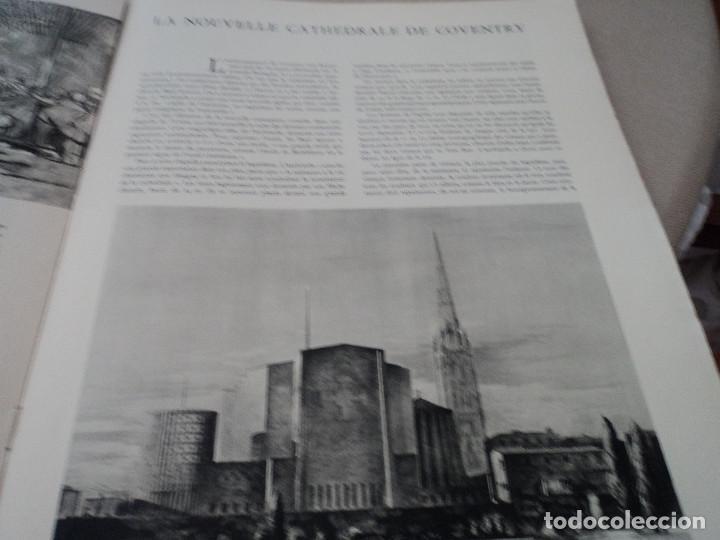 Coleccionismo de Revistas y Periódicos: L´ART D´EGLISE REVISTA LITURGICA 1955 EN FRANCES EL ARTE RELIGIOSO EN INGLATERRA - Foto 6 - 93830665
