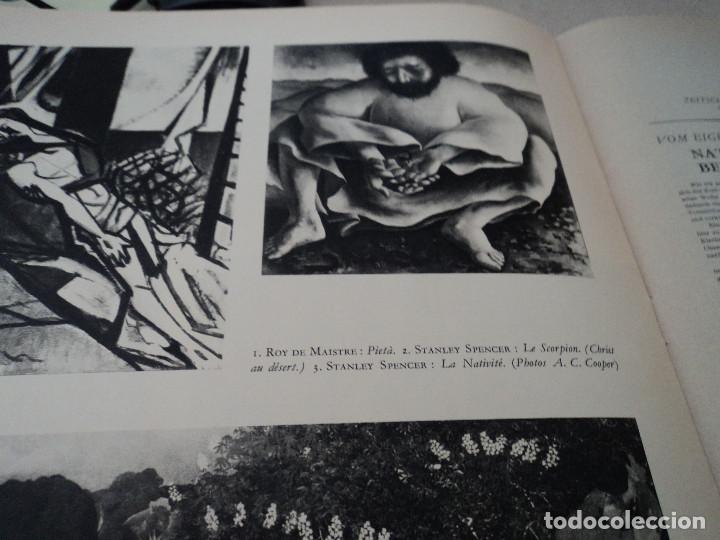 Coleccionismo de Revistas y Periódicos: L´ART D´EGLISE REVISTA LITURGICA 1955 EN FRANCES EL ARTE RELIGIOSO EN INGLATERRA - Foto 8 - 93830665