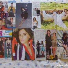 Coleccionismo de Revistas y Periódicos: LOTE VARIOS RECORTES ELENA ANAYA FOTOS REPORTAJES ARTICULOS. Lote 93876285
