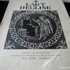 Coleccionismo de Revistas y Periódicos: L´ART D´EGLISE LA MADONNA EN EL ARTE 1955 IDIOMA FRANCES. Lote 93904175