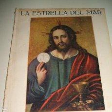 Coleccionismo de Revistas y Periódicos: SEMANA SANTA ESPECIAL REVISTA LA ESTRELLA DEL MAR AÑO 1930. Lote 93950850
