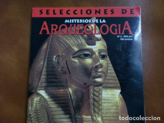 REVISTA:SELECCIONES DE ARQUEOLOGIA Nº 1.-MAGOS, MOMIAS Y PIRÁMIDES.- (Coleccionismo - Revistas y Periódicos Modernos (a partir de 1.940) - Otros)