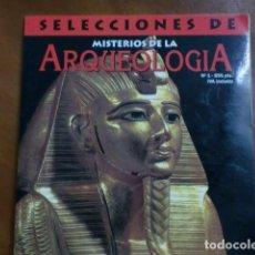Coleccionismo de Revistas y Periódicos: REVISTA:SELECCIONES DE ARQUEOLOGIA Nº 1.-MAGOS, MOMIAS Y PIRÁMIDES.-. Lote 93975665