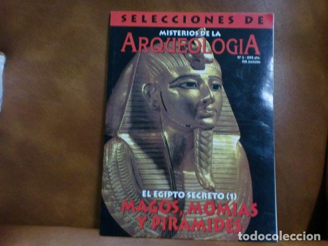 Coleccionismo de Revistas y Periódicos: REVISTA:SELECCIONES DE ARQUEOLOGIA Nº 1.-MAGOS, MOMIAS Y PIRÁMIDES.- - Foto 2 - 93975665