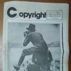 Coleccionismo de Revistas y Periódicos: REVISTA COPYRIGTH. FOTOGRAFS PROFESSIONALS PREMSA CATALUNYA. PRIMAVERA FOTOGRAFICA1982. FOTOGRAFIA . Lote 94002485
