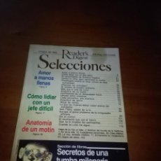 Coleccionismo de Revistas y Periódicos: READER´S DIGEST. OCTUBRE DE 1993. B13R. Lote 94052900