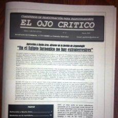 Coleccionismo de Revistas y Periódicos: REVISTA EL OJO CRÍTICO Nº 47. JACQUES VALLEE Y UMMO,NACHO ARES,CARAS DE BÉLMEZ.TCI.FRAUDE MILENIO3.. Lote 94097975