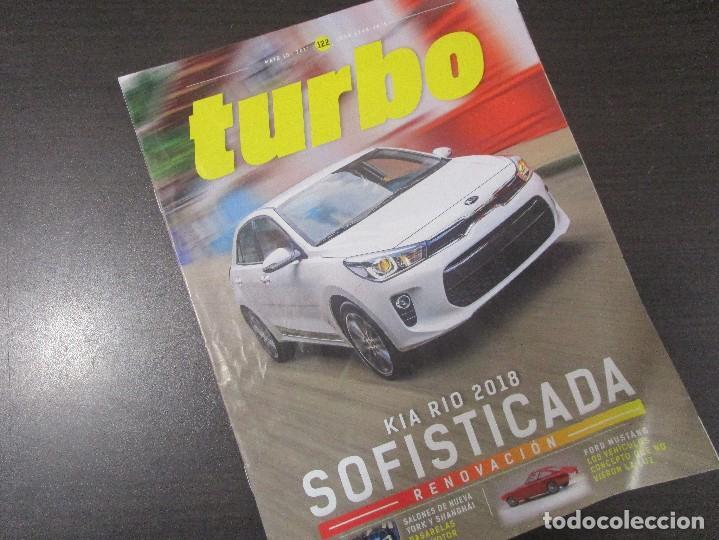 KIA RIO 2017 FORD MUSTANG REVISTA TURBO COLOMBIA 2017