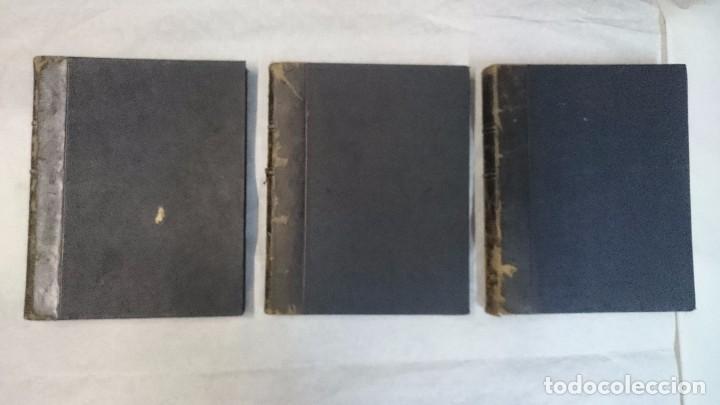 EL TEATRO - NÚMEROS 1 AL 39 - 3 TOMOS (1900-1903) (Coleccionismo - Revistas y Periódicos Antiguos (hasta 1.939))