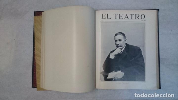 Coleccionismo de Revistas y Periódicos: El Teatro - Números 1 al 39 - 3 Tomos (1900-1903) - Foto 5 - 94235435