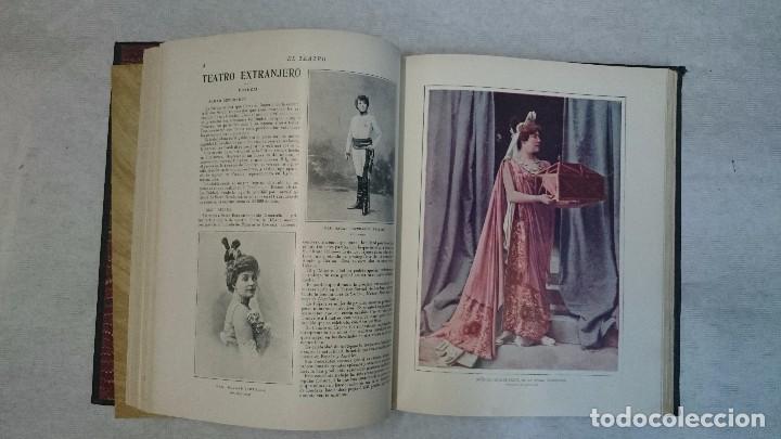 Coleccionismo de Revistas y Periódicos: El Teatro - Números 1 al 39 - 3 Tomos (1900-1903) - Foto 6 - 94235435