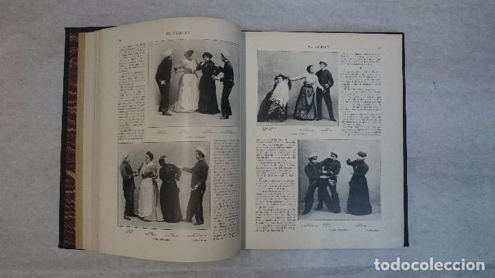 Coleccionismo de Revistas y Periódicos: El Teatro - Números 1 al 39 - 3 Tomos (1900-1903) - Foto 9 - 94235435