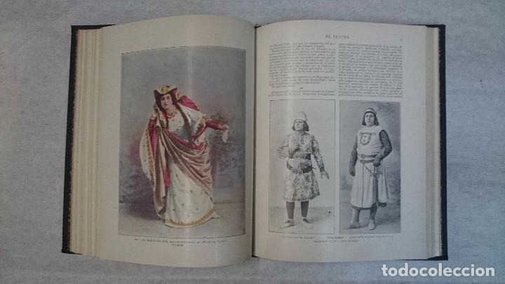 Coleccionismo de Revistas y Periódicos: El Teatro - Números 1 al 39 - 3 Tomos (1900-1903) - Foto 11 - 94235435
