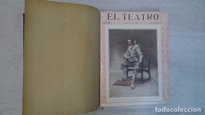 Coleccionismo de Revistas y Periódicos: El Teatro - Números 1 al 39 - 3 Tomos (1900-1903) - Foto 13 - 94235435