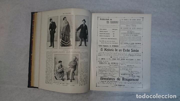 Coleccionismo de Revistas y Periódicos: El Teatro - Números 1 al 39 - 3 Tomos (1900-1903) - Foto 14 - 94235435
