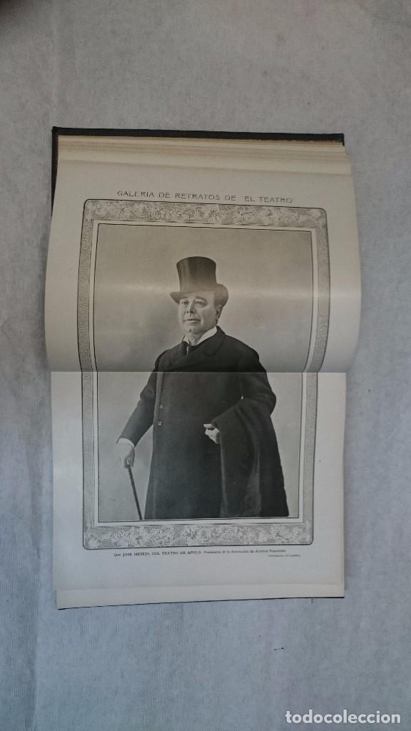 Coleccionismo de Revistas y Periódicos: El Teatro - Números 1 al 39 - 3 Tomos (1900-1903) - Foto 15 - 94235435