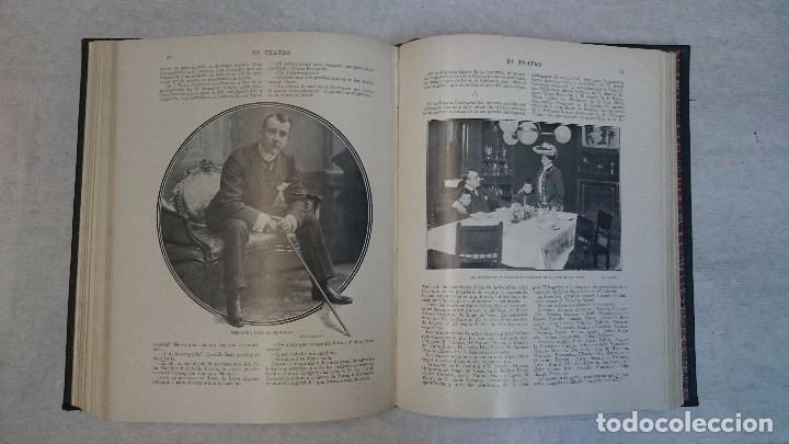 Coleccionismo de Revistas y Periódicos: El Teatro - Números 1 al 39 - 3 Tomos (1900-1903) - Foto 17 - 94235435