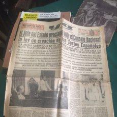 Coleccionismo de Revistas y Periódicos: PERIÓDICO YA 1942. Lote 94307622