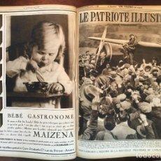 Coleccionismo de Revistas y Periódicos: REVISTA LE PATRIOTE ILLUSTRE TOMO COMPLETO AÑO 1932 .52 NÚMEROS DE LA REVISTA PUBLICIDAD EPOCA. Lote 94385062