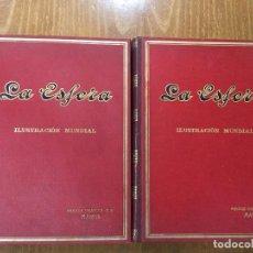 Coleccionismo de Revistas y Periódicos: REVISTA LA ESFERA AÑO 1914 TOMO I Y TOMO II.52 NÚMEROS DE LA REVISTA .. Lote 94388690