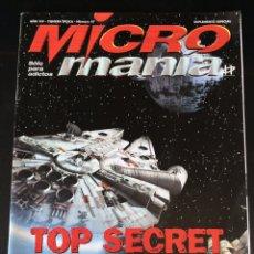 Coleccionismo de Revistas y Periódicos: MICRO MANÍA SUPLEMENTO ESPECIAL Nº 47 MICROMANIA STAR WARS. Lote 94461960