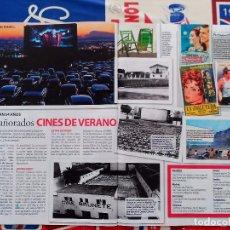 Coleccionismo de Revistas y Periódicos: CINES DE VERANO SARA MONTIEL CARMEN SEVILLA PAUL NEWMAN . Lote 94480730