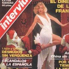 Coleccionismo de Revistas y Periódicos: INTERVIU VOLUMEN EXTRA NAVIDAD 1976: 1 ADAN Y 13 EVAS. Lote 78208858