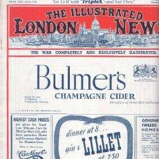 Coleccionismo de Revistas y Periódicos: THE ILLUSTRATED LONDON NEWS, NUMERO 5305, DECEMBER 21 1940: GENERAL HENRY MAITLAND WILSON CAMAND.... Lote 69480833