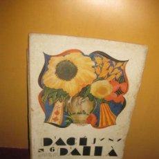 Collezionismo di Riviste e Giornali: REVISTA D'ACI D'ALLA. JUNY Nº 6. 1920. L'EXPOSICIO DE CLAVELLS DE SITGES.... . Lote 94572951