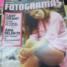 Coleccionismo de Revistas y Periódicos: REVISTA NUEVO FOTOGRAMAS AÑO XXVII Nº 1212 7 ENERO 1972. Lote 94643347