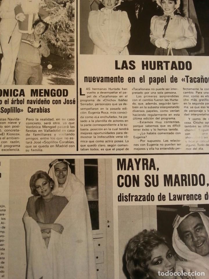 Coleccionismo de Revistas y Periódicos: Revista Semana año 1984 número 2341. Las Hurtado y Mayra Gómez kent un dos tres - Foto 2 - 94694655
