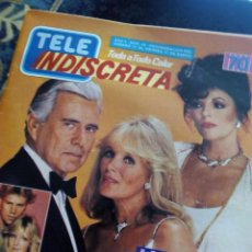Coleccionismo de Revistas y Periódicos: REVISTA TELE INDISCRETA DALLAS. Lote 95002243