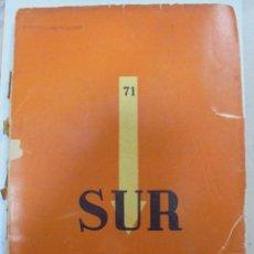 Coleccionismo de Revistas y Periódicos: REVISTA MENSUAL SUR. VICTORIA OCAMPO. FEBRERO 1940. Nº 71. BUENOS AIRES. AÑO IX. Lote 95036987