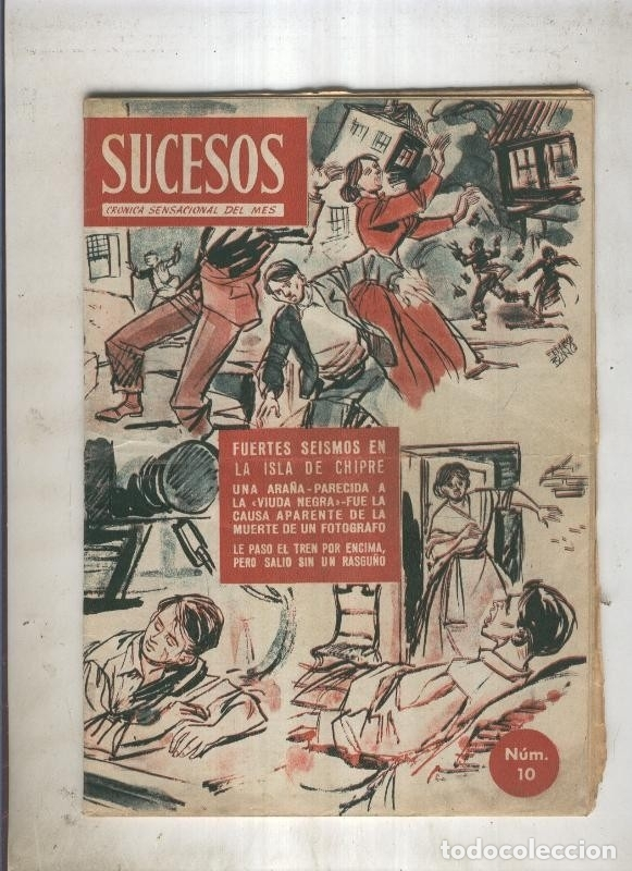 Revista Sucesos Numero 10 De 1953 2 Paginas C Buy Other Modern