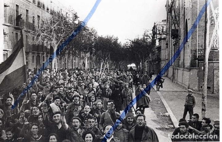 TARRAGONA 1939 15 DE ENERO RAMBLA VELLA HOJA LIBRO (Coleccionismo - Revistas y Periódicos Antiguos (hasta 1.939))