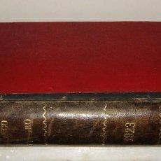 Coleccionismo de Revistas y Periódicos: REVISTA BLANCO Y NEGRO. 1923. ENCUADERNADA.. Lote 95222403