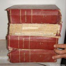 Coleccionismo de Revistas y Periódicos: REVISTA BLANCO Y NEGRO. 1926. ENCUADERNADA. 4 VOLÚMENES.. Lote 95223019