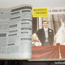 Coleccionismo de Revistas y Periódicos: REVISTA BLANCO Y NEGRO. 1960. ENCUADERNADA.. Lote 95223207